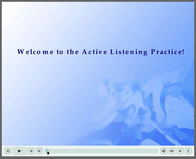 active listening skills from an interpersonal skills class   amanda